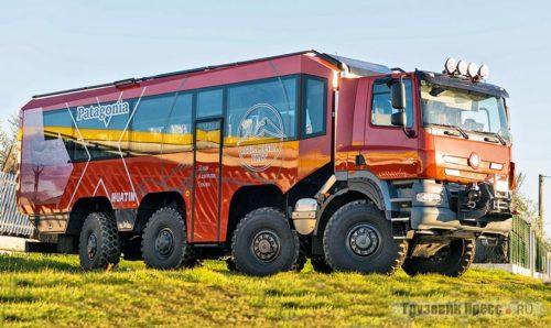 Полноприводной туристский автобус Tatrabus