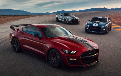 Самый мощный Ford - Mustang Shelby GT500