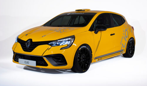 Три версии гоночного Renault Clio