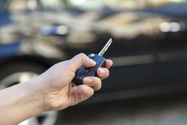 Виртуальный ключ для автомобиля