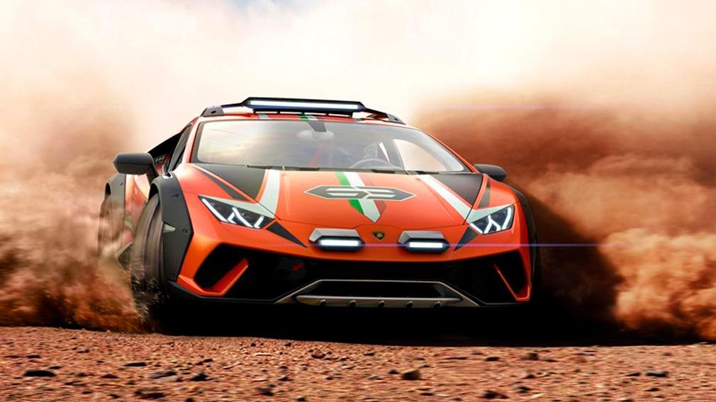 Вседорожный Lamborghini Huracan