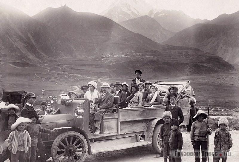 Зарождение автомобильного сообщения на Кавказе
