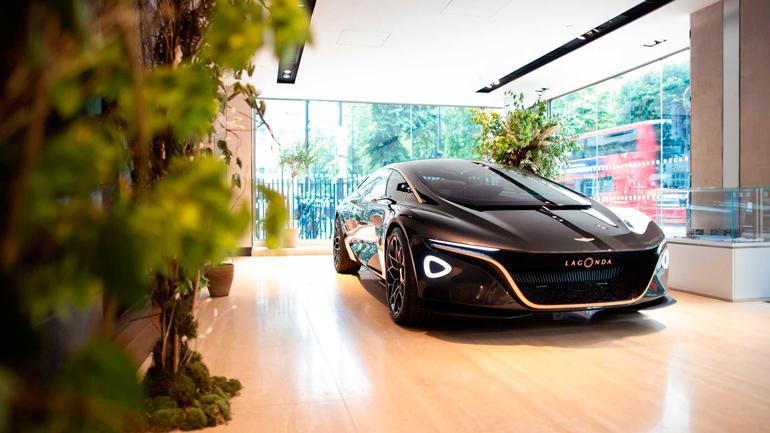 К выпуску беспилотников подключились Aston Martin и Lagonda