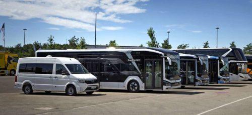 Автобусы и микроавтобусы MAN