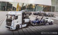 Автовоз Mercedes-Benz Actros  в масштабе 1:18