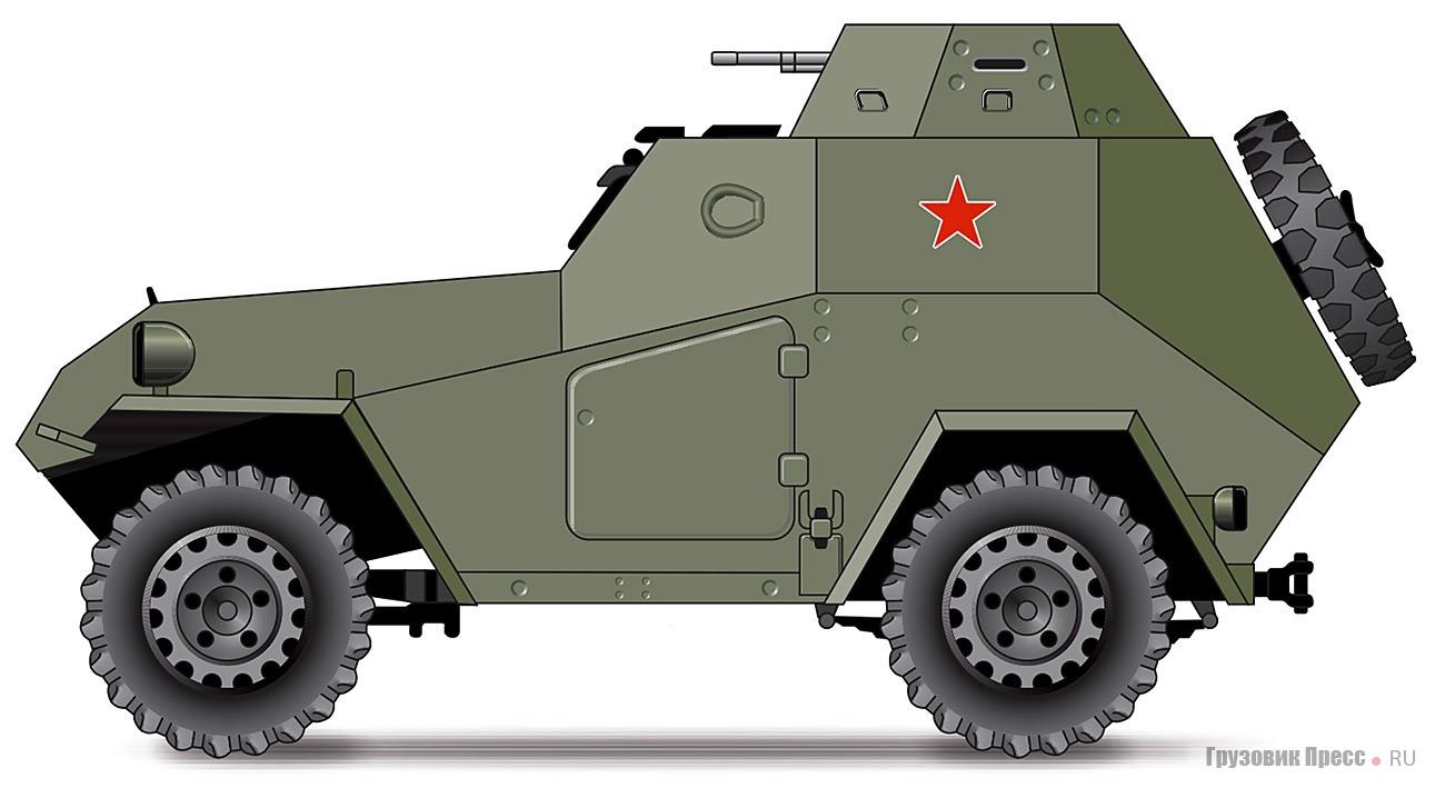 Броневик БА-64