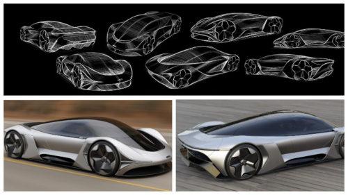 Электромобиль суперкар McLaren E-Zero