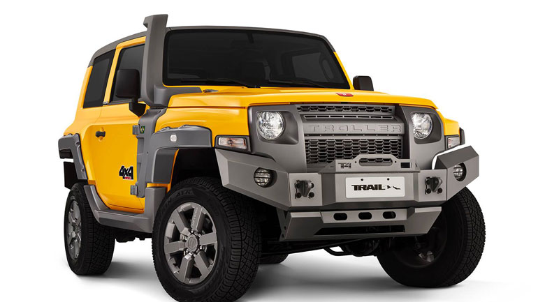 Ford Bronco Trail Troller T4
