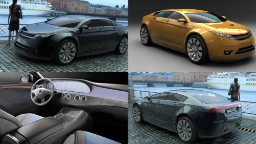 ГАЗ Волги с новым дизайном