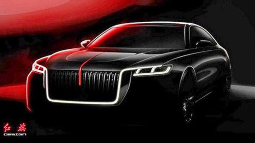 Китайский седан Hongqi H7 в стиле Rolls-Royce