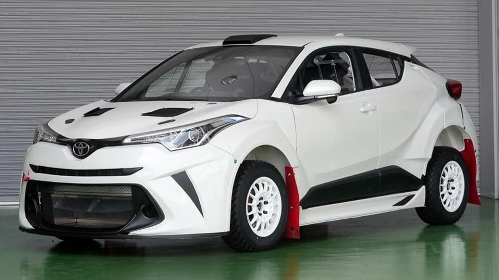 Кроссовер Toyota C-HR стал раллийным болидом