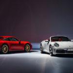 Купе и кабриолет Porsche 911 Carrera в базовых версиях