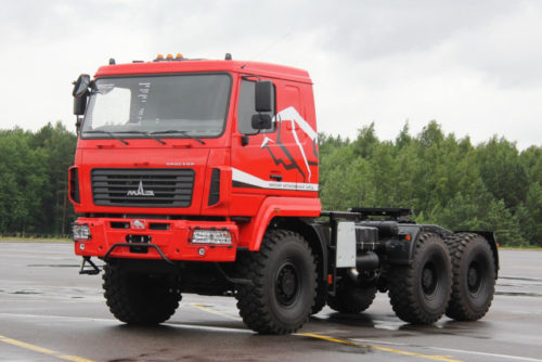 МАЗ и ZF