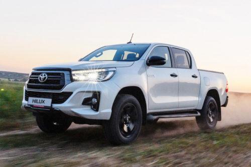 Новая версия пикапа Toyota Hilux