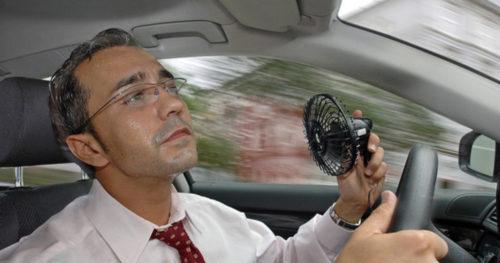 Опасные в жару автомобили