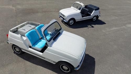 Пляжный кабриолет Renault 4