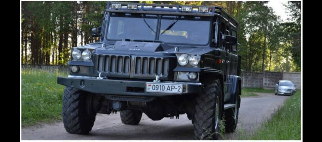 Превратить ГАЗ-66 в Hummer H2