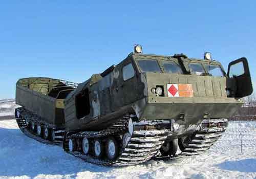 Советский вездеход Витязь