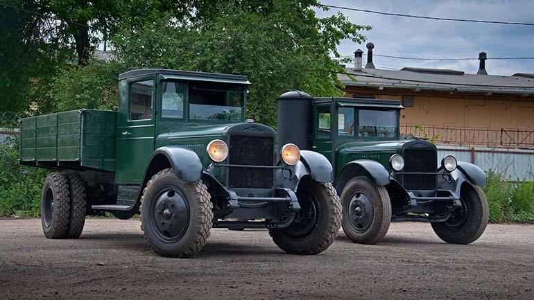 Советскому грузовику УРАЛ