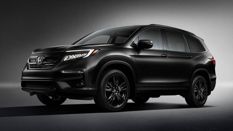 Спецверсия Honda Pilot Black Edition