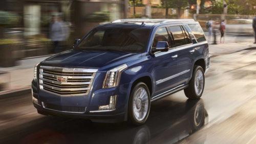 Внедорожник-электромобиль Cadillac Escalade