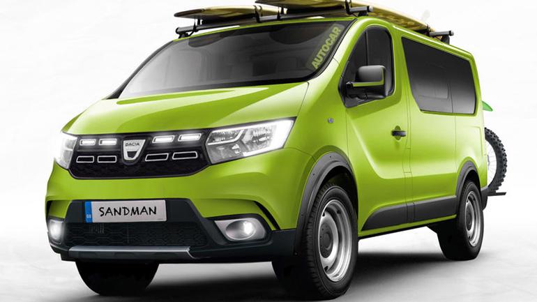 Из Renault Trafic получился бюджетный фургон Dacia Sandman