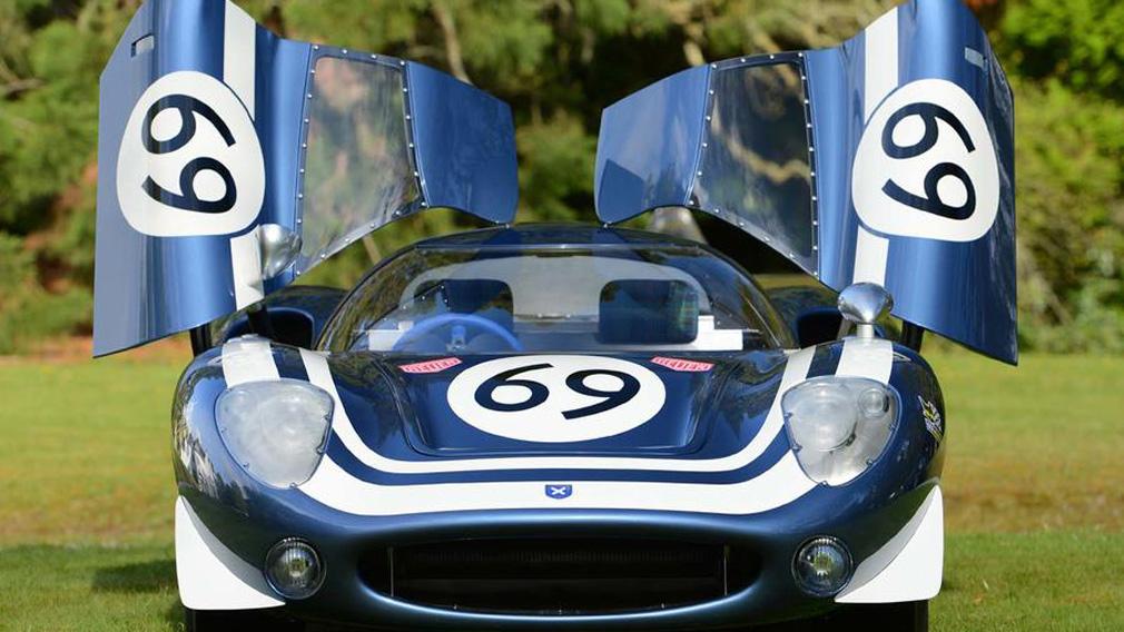 гоночный Jaguar XJ13