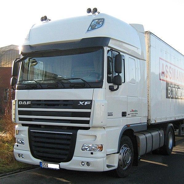 Лучший грузовик DAF XF