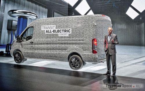 использование энергии в электрофургоне Ford