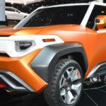 Новый кроссовер Toyota FT-4X