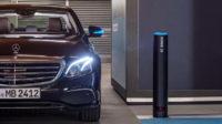 Автономная парковочная система от Mercedes-Benz