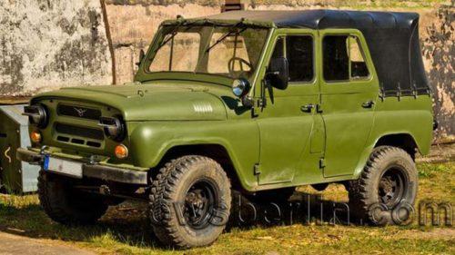 внедорожник УАЗ для военных