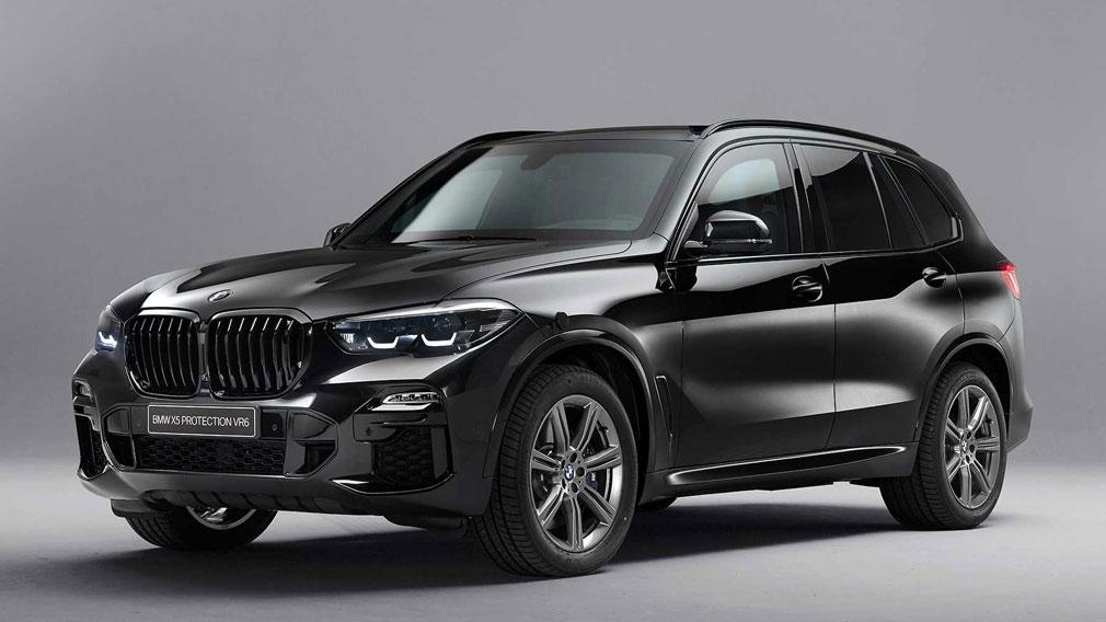 Бронированный внедорожник BMW X5 Protection VR6