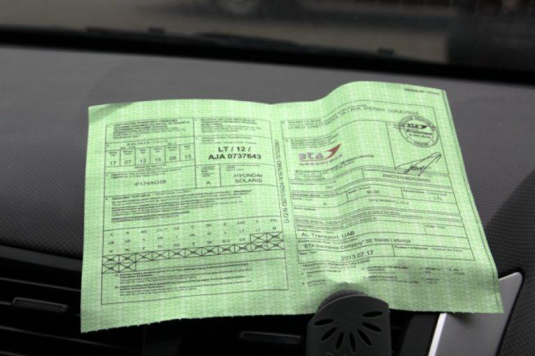 Что такое «Зеленая карта» водителя
