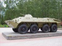 Демилитаризованные российские боевые машины