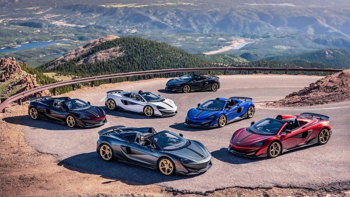 Эксклюзив McLaren 600LT Spyder Pikes Peak Collection