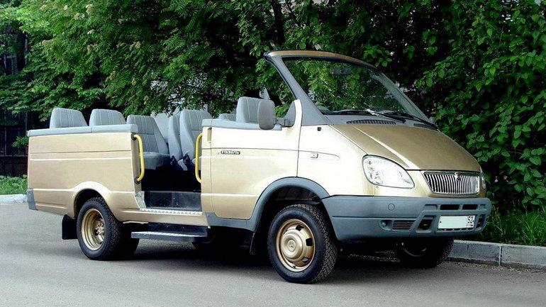Газель-кабриолет ГАЗ-2705