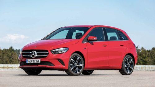 Гибридные версий компактных Mercedes