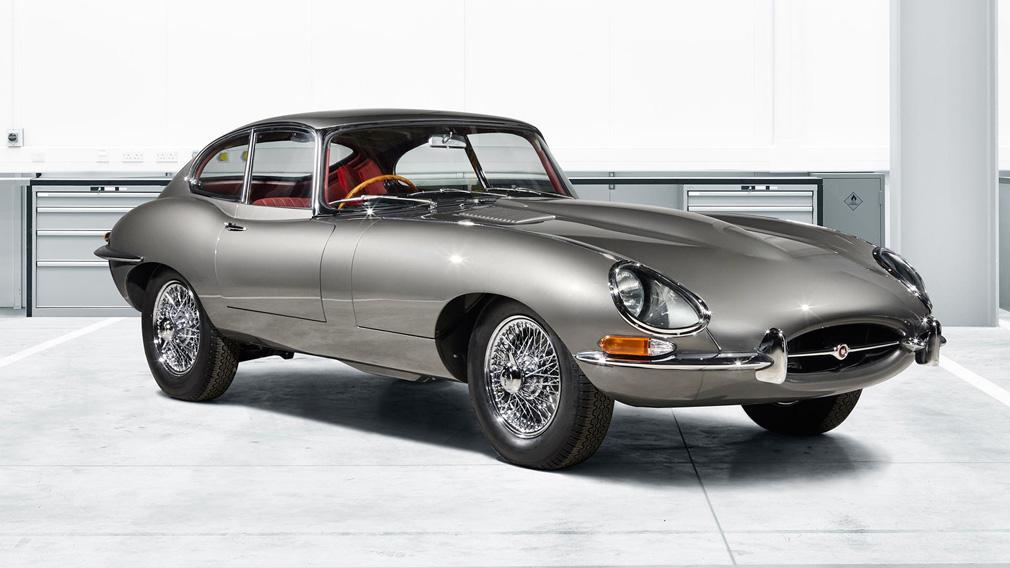 Рестмодовая версия культового Jaguar E-Type