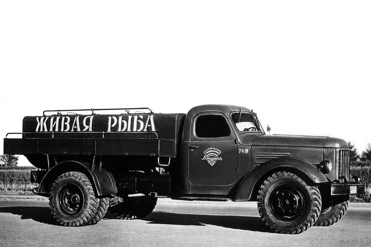 Как менялись грузовики-рыбовозы