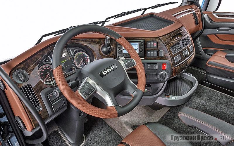 Комплектация современного грузовика