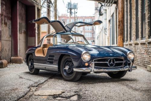 Легендарный Mercedes-Benz Gullwing