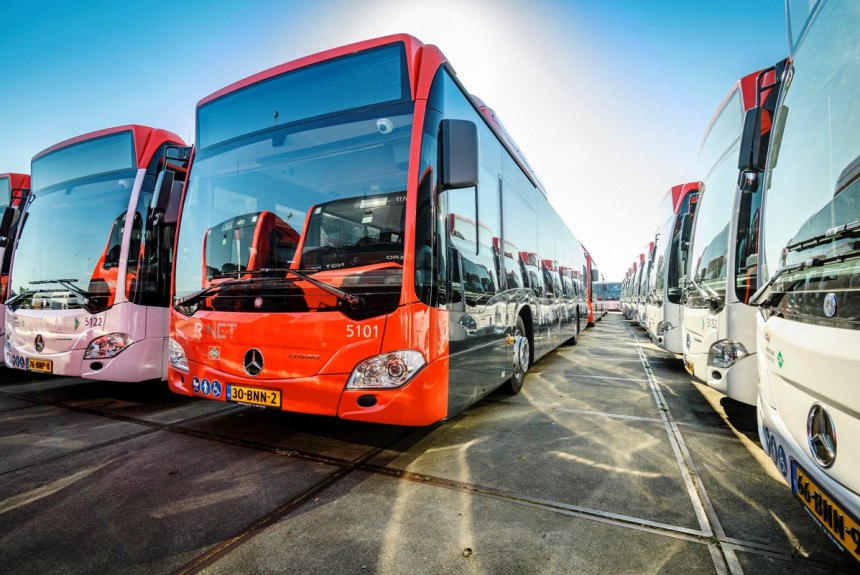 Mercedes Citaro - гибридный автобус