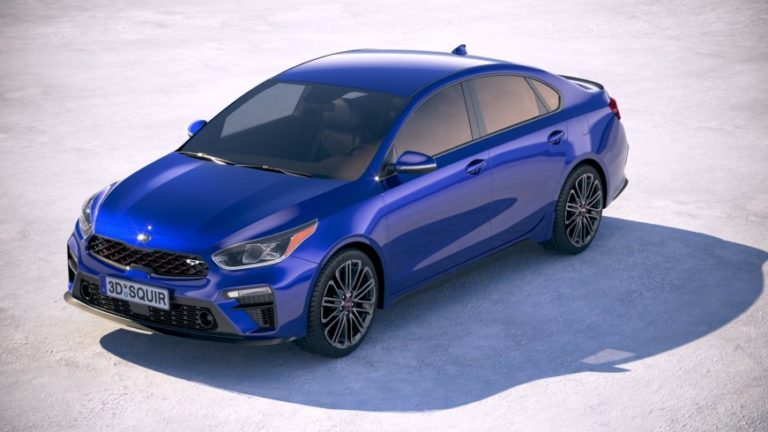 Новая версия модели Kia Forte GT