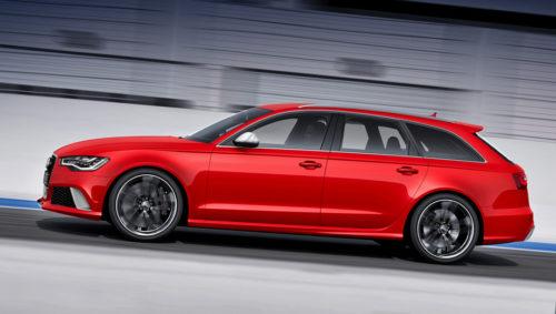 Новый универсал Audi RS6 Avant
