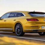Новый универсал Volkswagen Arteon Shooting Brake