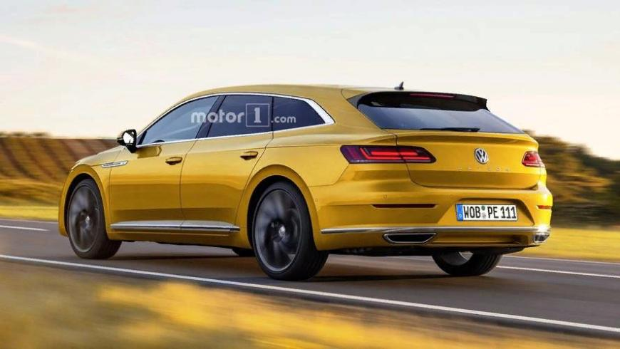 Новый универсал Volkswagen Arteon Shooting Brake