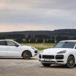 Новые мощные версии Porsche Cayenne