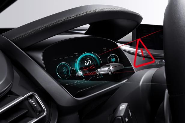 Приборная панель Bosch для автомобилей с трехмерным изображением