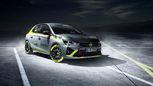 Раллийный электромобиль Opel